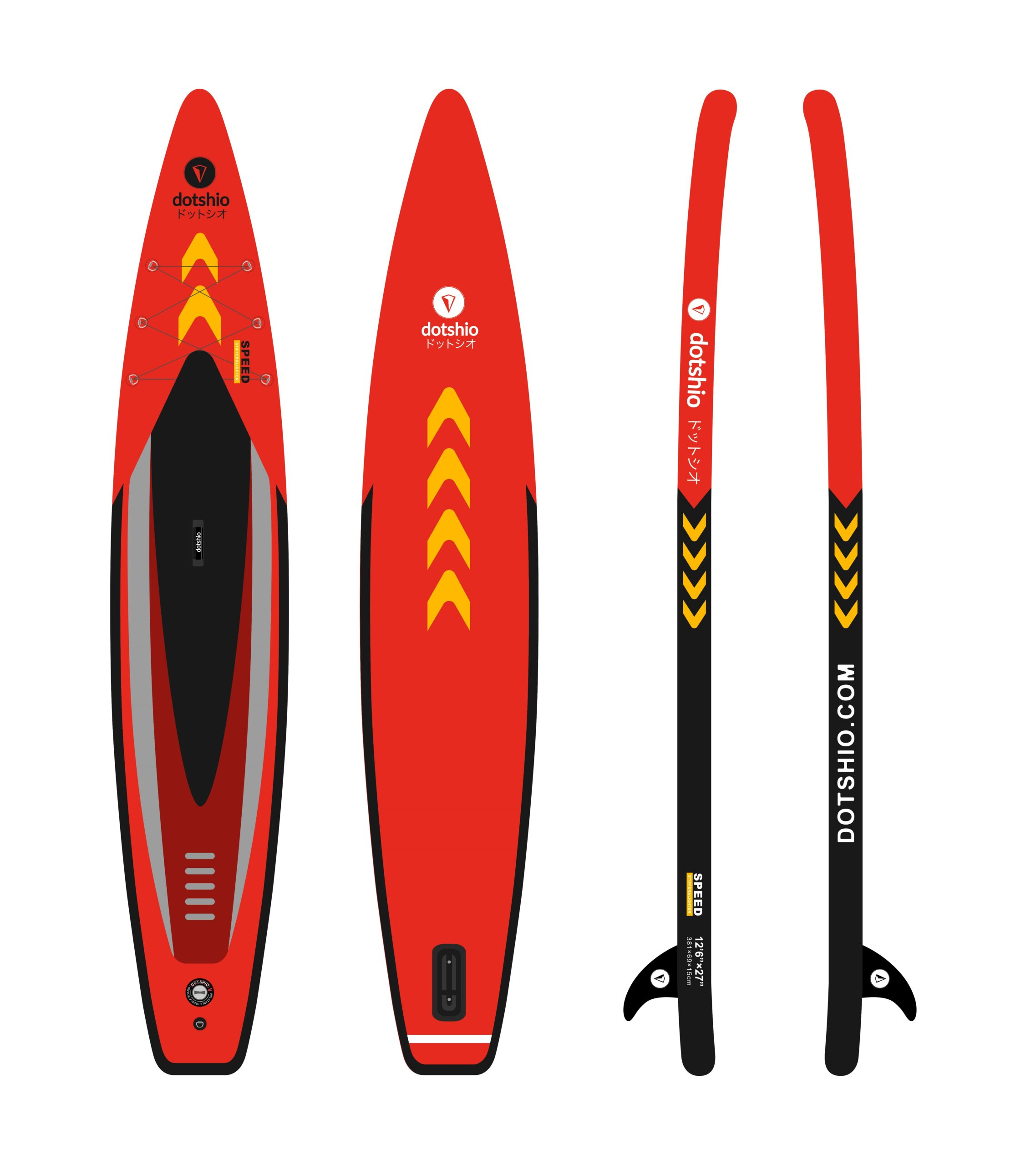 RACING SPEED-dotshio_paddle_surf_board_cheap_all_accesories
