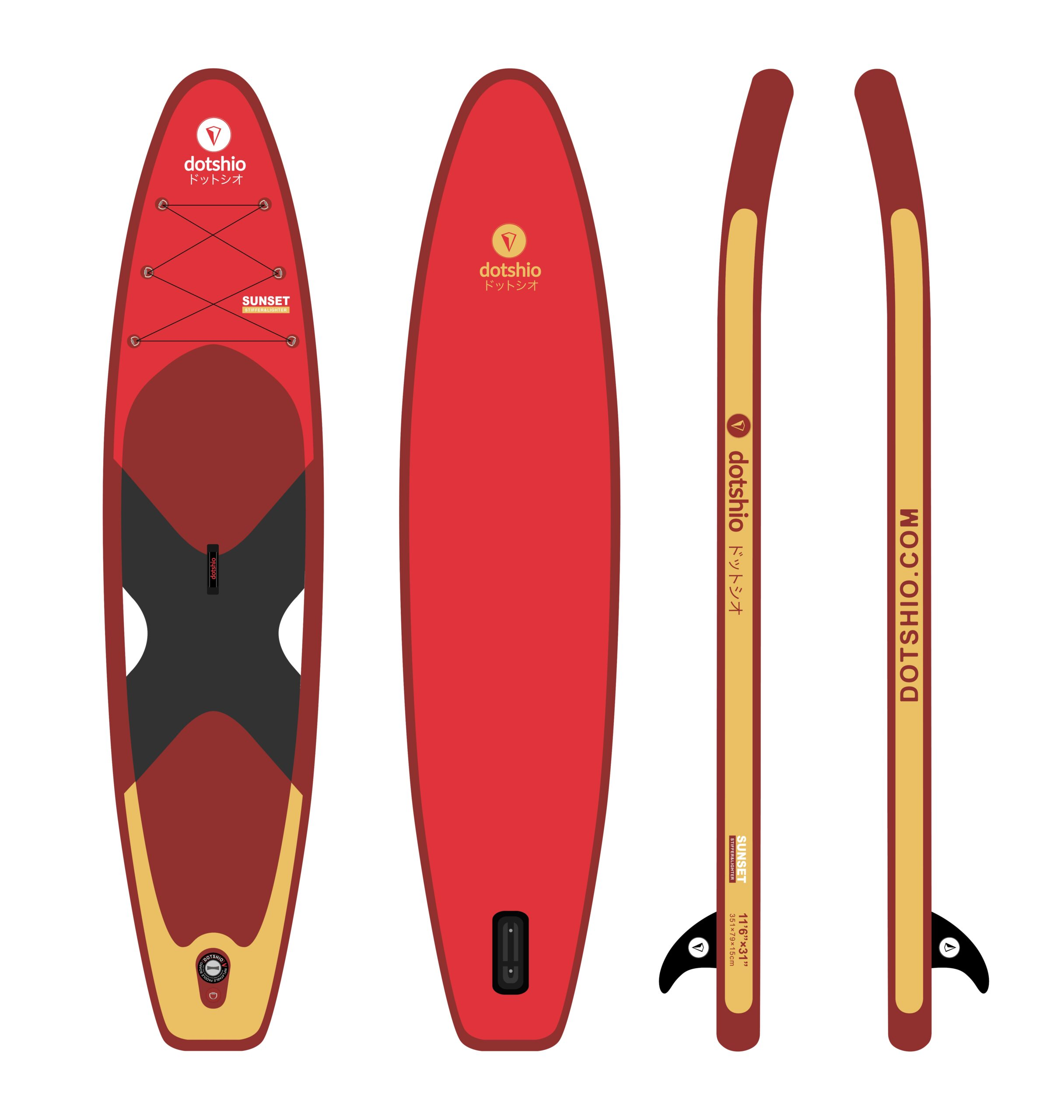 dotshio_Sunset_boards_INFLATABLE_PADDLE_SURF_BOARDS_SEA_touring